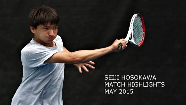 Seiji Hosokawa tennis
