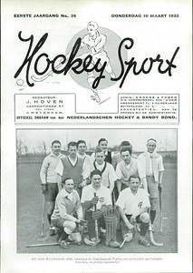 19320305nr01 Hockeysport 1e jaargang no. 26 donderdag 10 maart 1932