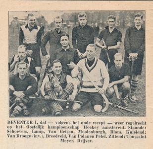 19321212 Opmerking: uit Salland-Sportbode ws. 12 december 1932. Verslagen wedstrijden 11 december 1932.   Collectie Blom in schrift