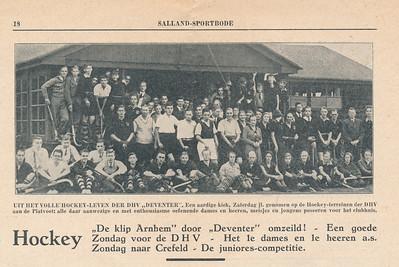 19321008 Onderschrift: zie foto  Opmerking: op 8 oktober 1932. Uit tekst daaronder opgemaakt.  Collectie Blom in schrift