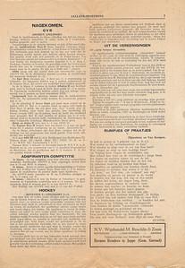 19321127 Verslag wedstrijd Deventer V- Apeldoorn in Deventer. Hoort bij foto.   Collectie Blom in schrift