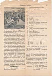 19330409 Onderschrift: zie foto Opmerking: opgenomen vanwege verhaal over Landauers  Is  na wedstrijd 9 april 1933. Op ommezijde verslag Deventer- Amsterdam 2-3   Collectie Blom in schrift
