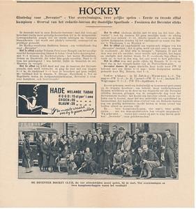 19330312 Artikel uit Sallandse Sportbode of Oostelijke Sportbode  Foto is   Collectie Blom in schrift