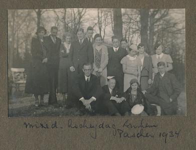 193403 Origineel foto in Clubnieuws. Zie daar.   CollectieJanBlomgrijsblauw Fotograaf: onbekend Formaat: 7 x 5 Afdruk zw