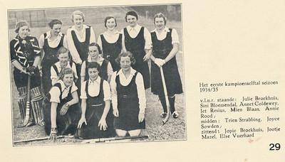 193409 Onderschrift: zie foto  Clubnieuws november 1938 p.29 Fotograaf: onbekend Formaat; 10 xs 8 Afdruk zw