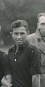 19340916 Scholten, de eerste DHV-international   Uitvergroting foto 16 september 1934