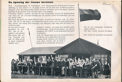 19370912 Zie andere foto. Iets ander moment  Clubnieuws oktober 1937 p.4 Fotograaf: onbekend Formaat:  Afdruk zw