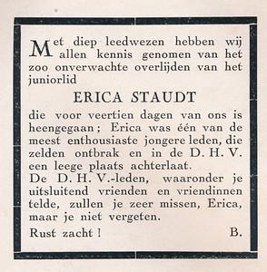 19410419 Opmerking: zie foto Erica   Clubnieuws mei 1941 Formaat: 7 x 7