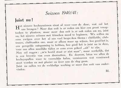 194009 Clubnieuws september 1940