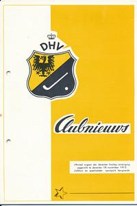 Laatst verschenen Clubnieuws april 1970   Ex. JWBlom