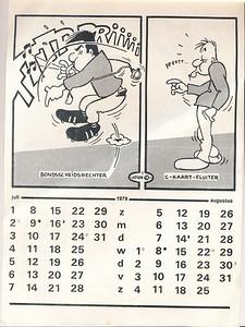 Kalendernr5   Collectie Marion Haaxman-Treffers Maker: John (Hayward?) Formaat: 31 x 21 Zw