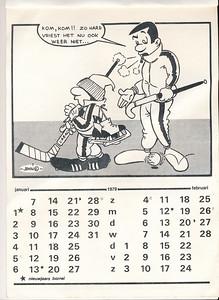 Kalendernr2  Collectie Marion-Haaxman-Treffers Maker: John (Hayward?) Formaat: 31 x 21 Zw
