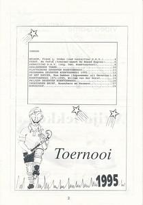 19950527nr02 Boekje tgv Koektoernooi 1995   Collectie Henk Pott   Formaat: A4