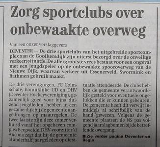 19950822  Deventer Dagblad 22 augustus 1995, pag. 1