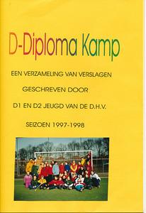 19980131  Zie foto Opmerking: zie De Telescoo 8 december 1997 p. 7 D-Diplomakamp 31 januari en 1 februari 1998   Collectie Willemijn Blom  Formaat 29 x 21