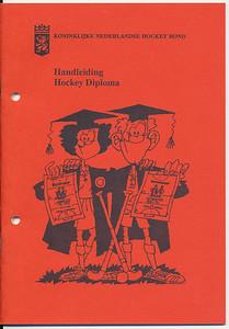 20000101 Handleiding behalen D-diploma. Geen datum maar in map bij D-kamp 2000 of 2001  Clubhuis