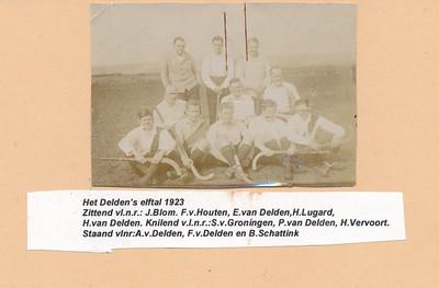 19230401 Onderschrift: zie foto  Opmerking:  Foto ook in archief J. Blom   Archief UD Fotograaf: onbekend  Formaat: 8.5 x 6 Afdruk zw origineel