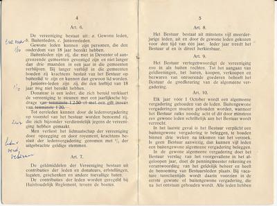 19241128nr03 Statuten 28 november 1924 pag.4 en 5   Archief DHV