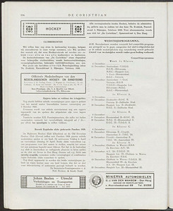 19271202 Bericht komst Hightown H.C.  De Corinthian 2 december 1927