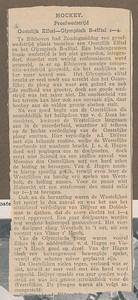 19280212  Artikel uit ?  Archief DHV Album Drijver.