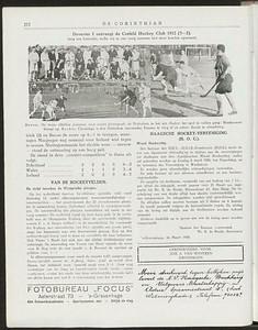 19280304 Deventer-Crefeld  De Corinthian 16 maart 1928