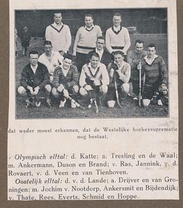 19280212  Gescand vanaf geknipt artikel.  Uit De Corinthian. Zie verder daar.  Archief DHV Album Drijver.