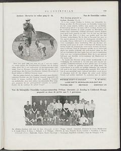19271216 Wedstrijd dus eerder.  De Corinthian 16 december 1927.