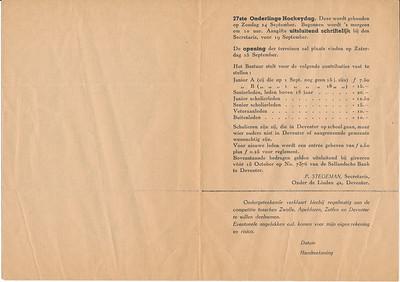 194409 Mededelingenblad september 1944. Pag. 2.   ArchiefDHV