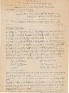 194509nr1 Nooduitgave Clubnieiws ws. september 1945  ArchiefDHV
