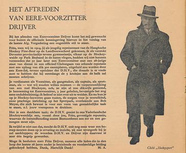 194610 Onderschrift: zie foto  Clubnieuws oktober 1946 no.1 van de 9de jrg. p.2