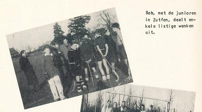 Onderschrift: zie foto Opmerking: foto ook in collage. Onderschrift daar idem.   Clubnieuws 15 (1953-1954) 2 november, p. 22