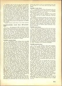 19550424nr1 Verslag wedstrijd Heren 1 tegen PW 2 op 24 april 1955. Heren 1 is kampioen.  Hockeysport 22 (1954-1955) ed. 31, 28 april 1955 p.611