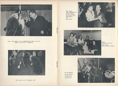 19551126 Onderschrift: zie foto Opmerking: Sinterklaas 26 november 1955 in Hotel De Platvoet. Zie verslag in Clubnieuws december 1955.  Clubnieuws 17 (1955-1956) 2 p. 10 en 11 Fotograaf: onbekend Formaat: 28 x 20 Afdruk zw