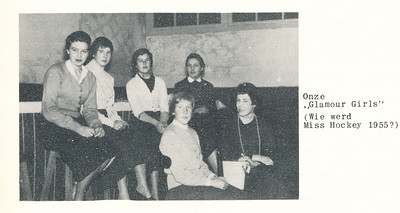 19551126nr04 Onderschrift: zie foto Opmerking: onder m.i. Anke Dienske   Clubnieuws 17 (1955-1956) 2 december .p. 11