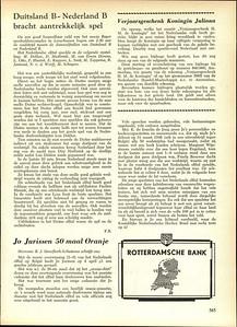 19590412 Verslag wedstrijd Nederland B Dames op 12 april 1959.  Hierin komt Loes Smit voor. Zij was in oktober 1958 lid geworden van TOGO.  Blijkens Hockeysport van 2 april 1959 p. 519 speelde zij niet permanent in Nederland B. Zij verving alleen 12 april 1959 mej . Dijkstra van BDHC die die dag verhinderd was.  Hockeysport 26 (1959-1959) 27, 9 april 1959 (ws. fout), p. 565.