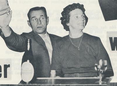 19621201 Uitsnede Appie Kolkman en Mevrouw Kolkman