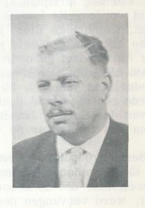 19631118 Onderschrift: geen Bij stukjeJan Broekhuis in lustrumnummer 1963  Opmerking: Jan Broekhuis   Clubnieuws 25 (1963-1964) 3 p. 6 Fotograaf: onbekend Formaat: 5 x 4 Afgdruk zw