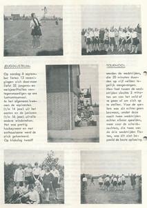 19630908 Onderschrift: zie foto Opmerking: jeugdlustrumtoernooi. Georganiseerd door Jeugdbestuur, bijgestaan door Piet Dubois. Zie Clubnieuws   Clubnieuws 25 (1963-1964)2 p. 8 Fotograaf: onbekend Formaat: nvt Afdruk zw