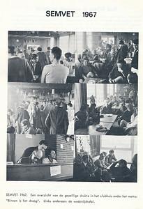 19670327 Onderschrift: zie foto  Opmerking: Semvettoernooi 1967   Clubnieuws 28 (1967)2  mei 1967, p. 15 Fotograaf: onbekend Formaat: nvt Afdruk zw