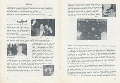 19670218 Onderschrift: zie foto Opmerking: o.a. foto Job Kipp. Oudere heren uitgenodigd dansje   Clubnieuws 28 (1967) 2 mei 1967 Fotograaf: onbekend Formaat: nvt Afdruk zw