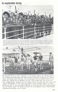 196608 Onderschrift: zie foto Opmerking; Anke Dienske  Clubnieuws 27 (1965-1966) 5, p.27 Fotograaf: onbekend Formaat: nvt Afdruk zw