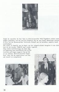 19670903 Onderschrift: zie foto Opmerking: Districtsdag 3 september 1967   Clubnieuws 28 (1967), 4 november, p. 34 Fotograaf: onbekend  Formaat: nvt Afdruk zw