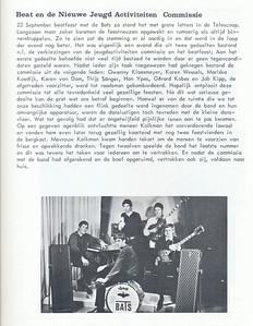 19670923 Onderschrift: zie foto  Opmerking: Beatfeest   Clubnieuws 28 (1967) 4, november, p. 20 Fotograaf: onbekend Formaat: nvt Afdruk zw