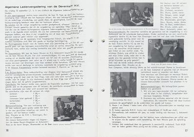 19670915 Onderschrift: zie foto  Opmerking: o.a. Jan van Groningen   Clubnieuws 28 (1967) 4, p. 16 en 17 Fotograaf: onbekend Formaat: nvt Afdruk zw