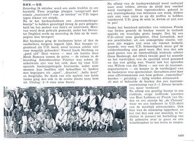 19721028 Tekst en foto in U.D.Kanon   UD/Kanon dec. 1972 57e jrg nr. 3
