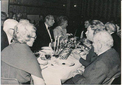 19731117  Lustrum1973 in Le Patineur 17 november 1973   ArchiefDHVlossefoto's  Fotograaf: onbekend  Formaat: 15 x 10  Afdruk zw