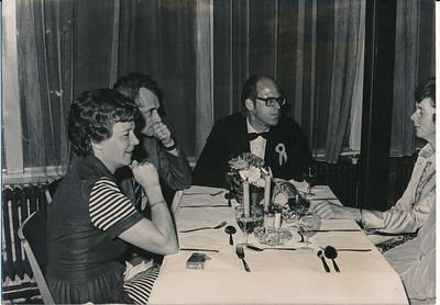 19731117  Lustrum 1973 in Le Patineur 17 november 1973   ArchiefDHVlossefoto's  Fotograaf: onbekend  Formaat: 15 x 10  Afdruk zw