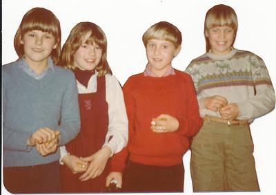 1980 Achterop: niets wel zelfde afdrukpapier als andere foto's in album mini's 1980  Opmerking: mini's omstreeks 1980 ???   Album minis'clubhuis Fotograaf: Formaat: 9x7 Afdruk kleur