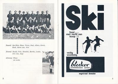 19800922nr3 Onderschrift: zie foto  Opmerking: Programmaboekje Heren I seizoen 1980-1981  Datering volgens laatste pagina   Collectie Van der Graaf  Formaat: A 5  Afdruk zw