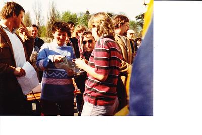 19820411 Onderschrift in mail: Angers 1982 2  Collectie Paul Kipp Fotograaf: onbekend Formaat: onbekend Afdruk kleur